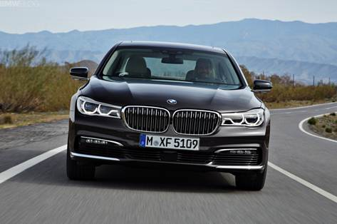 2016 BMW 7 Series – New Rendering