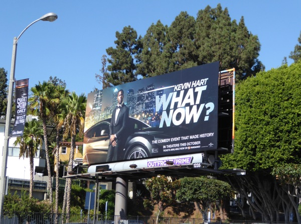 What Now film billboard