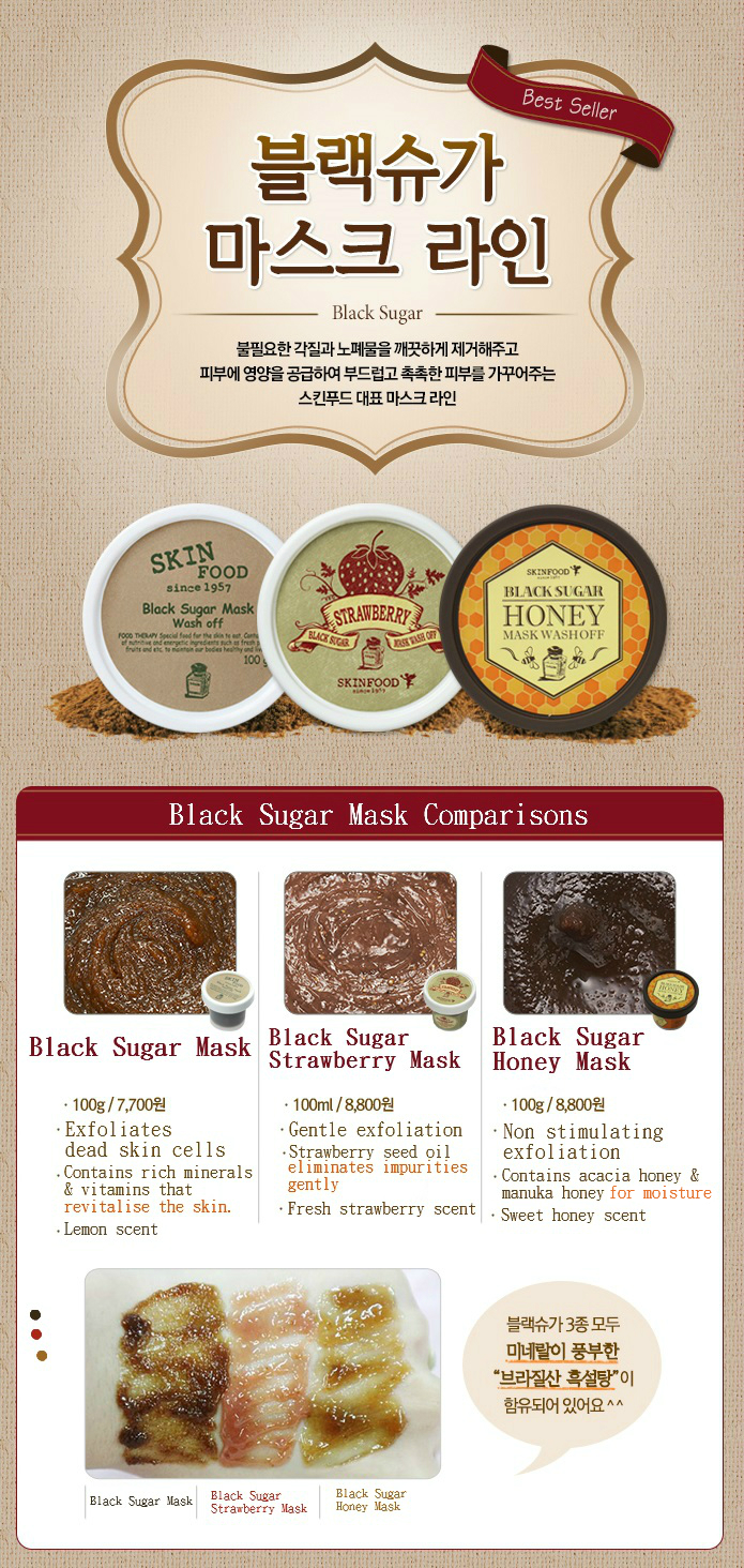 Keikeikirsten Sponsored Post Skin Food Black Sugar Strawberry Mask Wash Off A Facial That Contains Mineral Rich Brazilian Along With Seeds And Seed Oil Applies Smoothly On Leaves