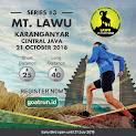 Goat Run Lawu • 2018