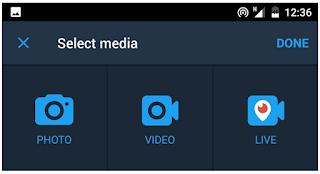 Cara Membuat Video Live Di Twitter begini caranya