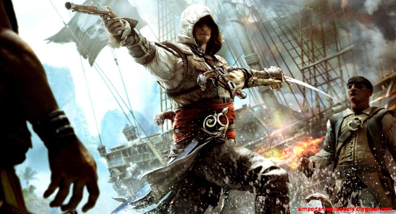 Assassins Creed 4 Background Desktop Hd Wallpaper Important