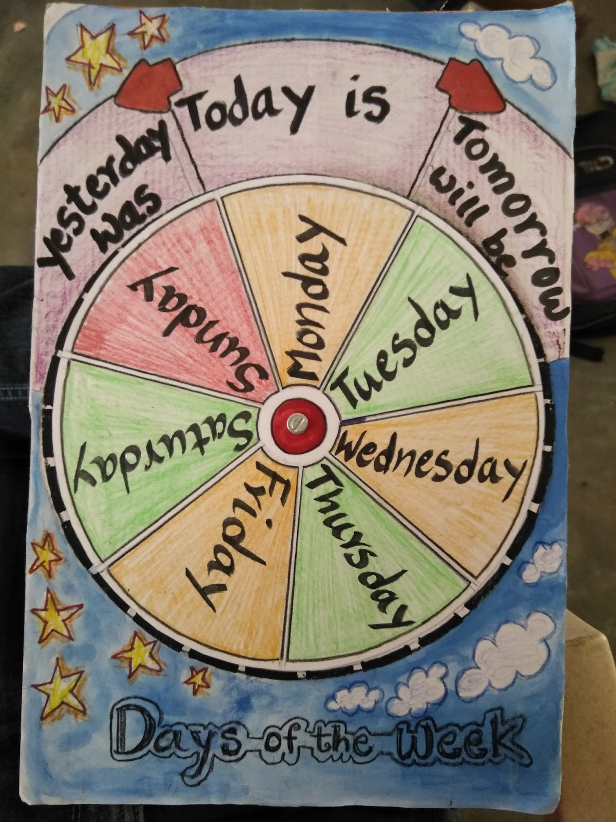 Days Of A Week An Innovative Wheel
