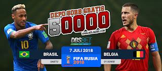 brasil vs belgia piala dunia 7 juli 2018