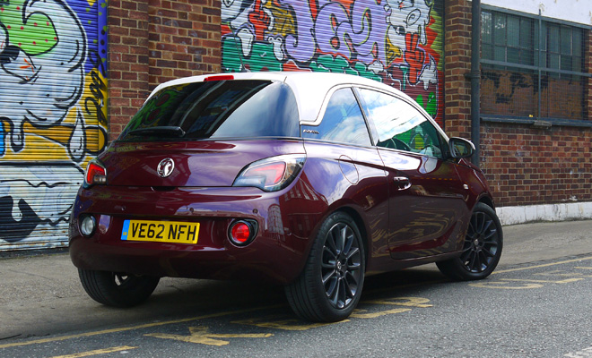 Vauxhall Adam rear side view