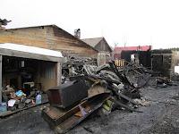 (ФОТО)город Сухой Лог пожар по адресу: г. Сухой Лог, ул. Лесная, 24.