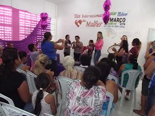 Dia Internacional da Mulher é comemorado em Baraúna