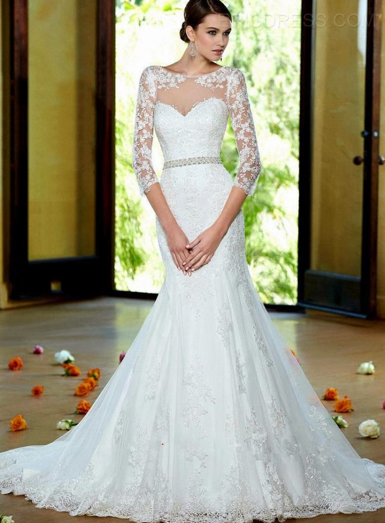 FASHION SPIKE: Wedding dresses under $ 200 with ericdress