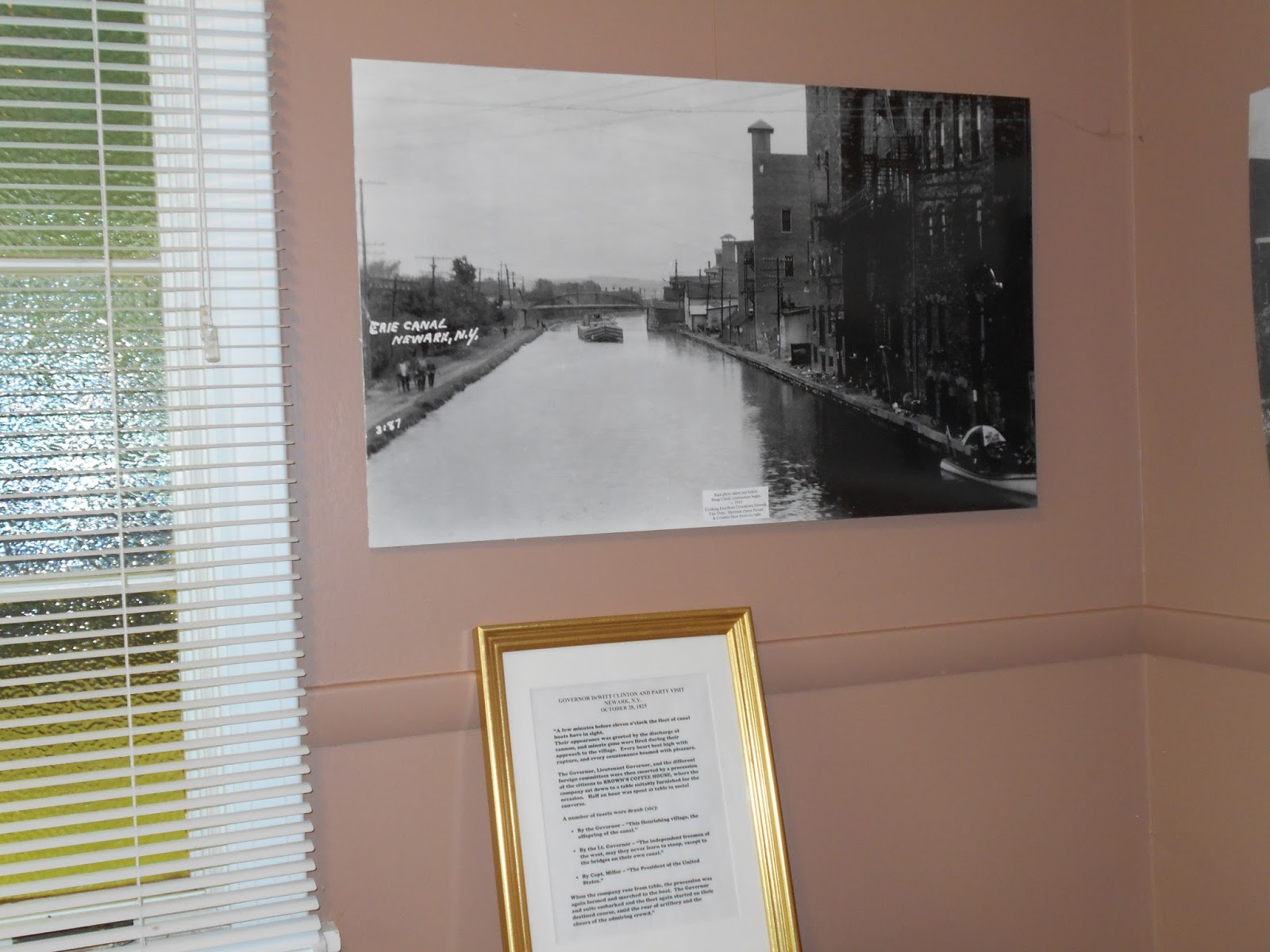 the growth of the nys business after the construction of the erie canal Pittsford (village), new york (now new york state route 31) pittsford grew rapidly after the opening of the erie canal in 1822 and was incorporated as a.