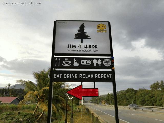 Makan-makan di Jim at Lubok, Restoran Cantik Makanan Sedap