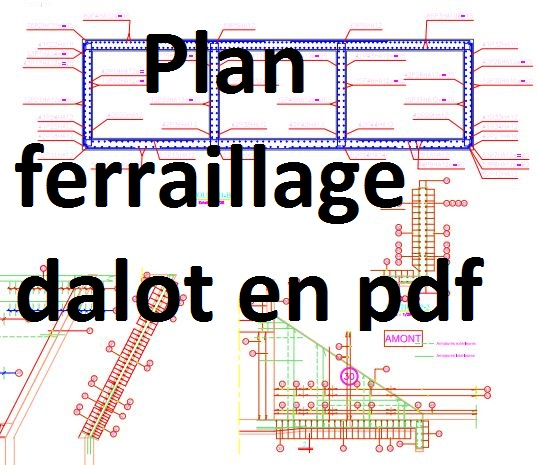 Exemple de plan ferraillage dalot en pdf cours g nie for Assainissement cours pdf