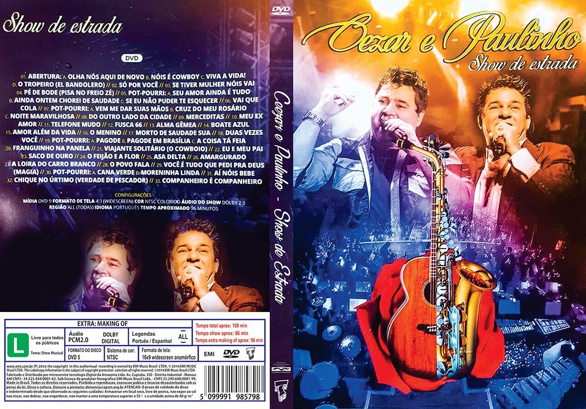 Download Cezar e Paulinho Show de Estrada DVD-R