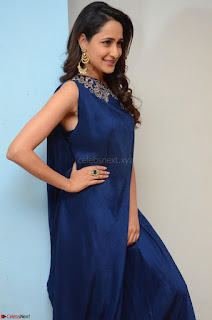 Pragya Jaiswal in beautiful Blue Gown Spicy Latest Pics February 2017 005.JPG