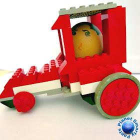 STEM Challenge for Kids: Design and Build a Lego Egg Racer