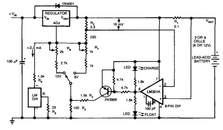 Circuit Diagram and Electronic Circuits Projects: Batteries