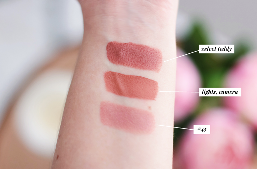 nude lipstick swatches best top