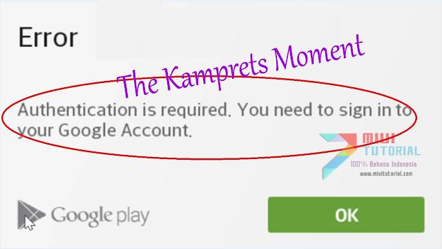 Kesal Dengan Authentication Is Required Google Playstore Di Smartphone  Xiaomi? Ini Tutorial Cara FIX Nya