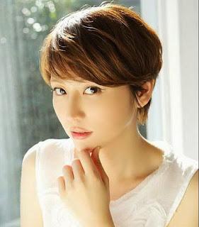 Model Rambut Pendek Wanita Korea 2021