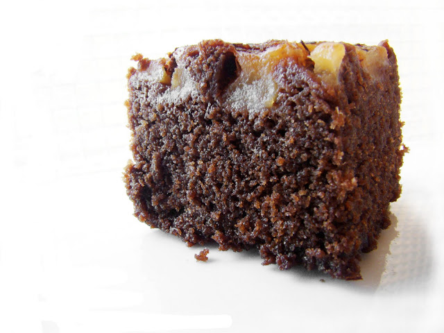 Invertido Peras, Chocolate y Té especiado
