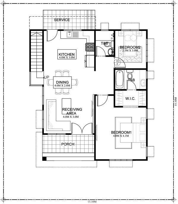 Beautiful houses with floor plans and estimated cost for Semi attached house plans