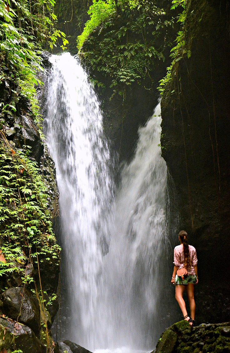 Gitgit twin waterfalls, Tamara Chloé, Bali, Indonesia