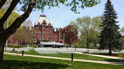 Dean College gets ready for commencement 2015