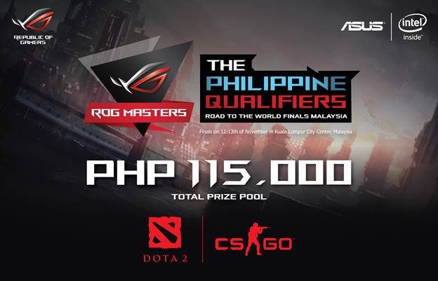 join rog masters 2016 gaming tournament philippine qualifiers for