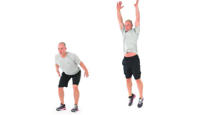 Olahraga Peninggi Badan - Spot Jump
