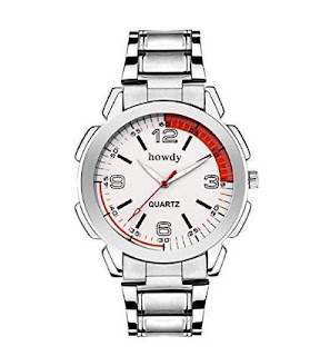 Howdy Analog Stainless Steel Strap Men's Watch