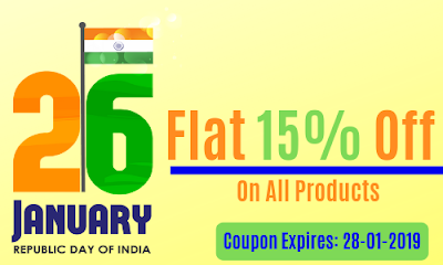 Republic Day Discount-Flat 15% Off