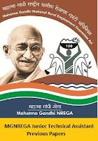MGNREGA Junior Technical Assistant Previous Papers
