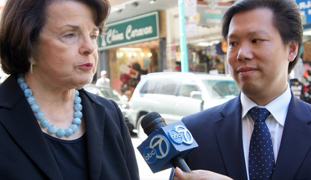 Sen. Dianne Feinstein's Ties To China Go Way Deeper Than An Alleged Office Spy