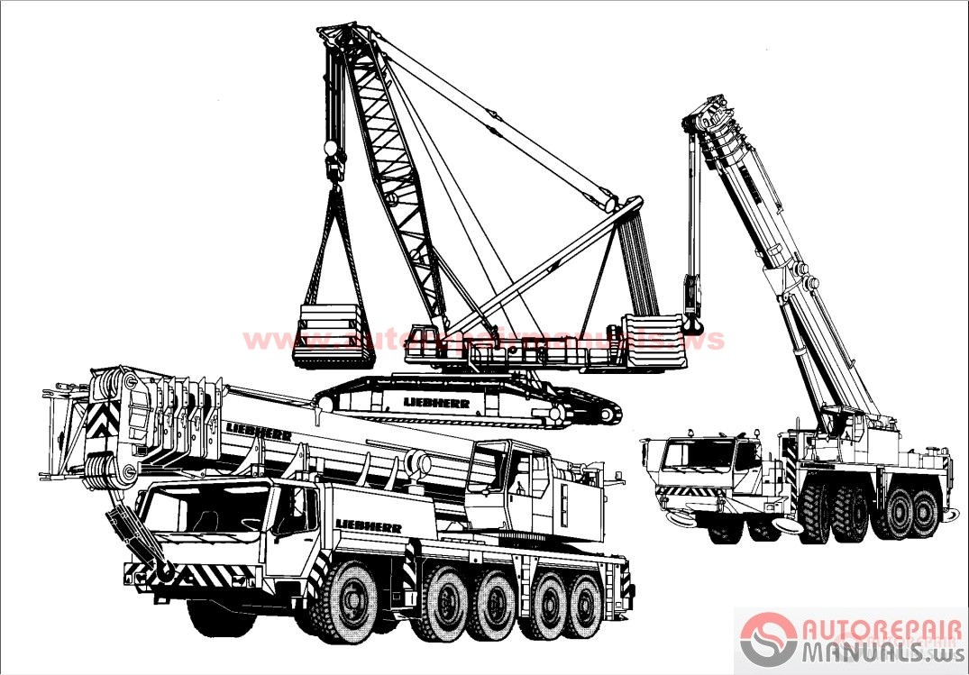 free auto repair manual   liebherr crane service manual