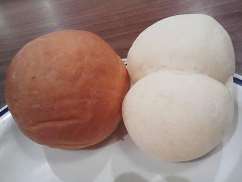 パン2種類 ステーキガスト一宮尾西店