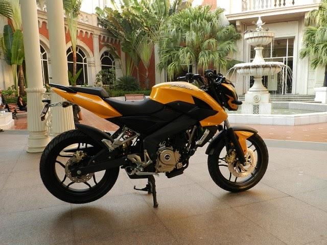 New Motorcycles: New Pulsar 200NS