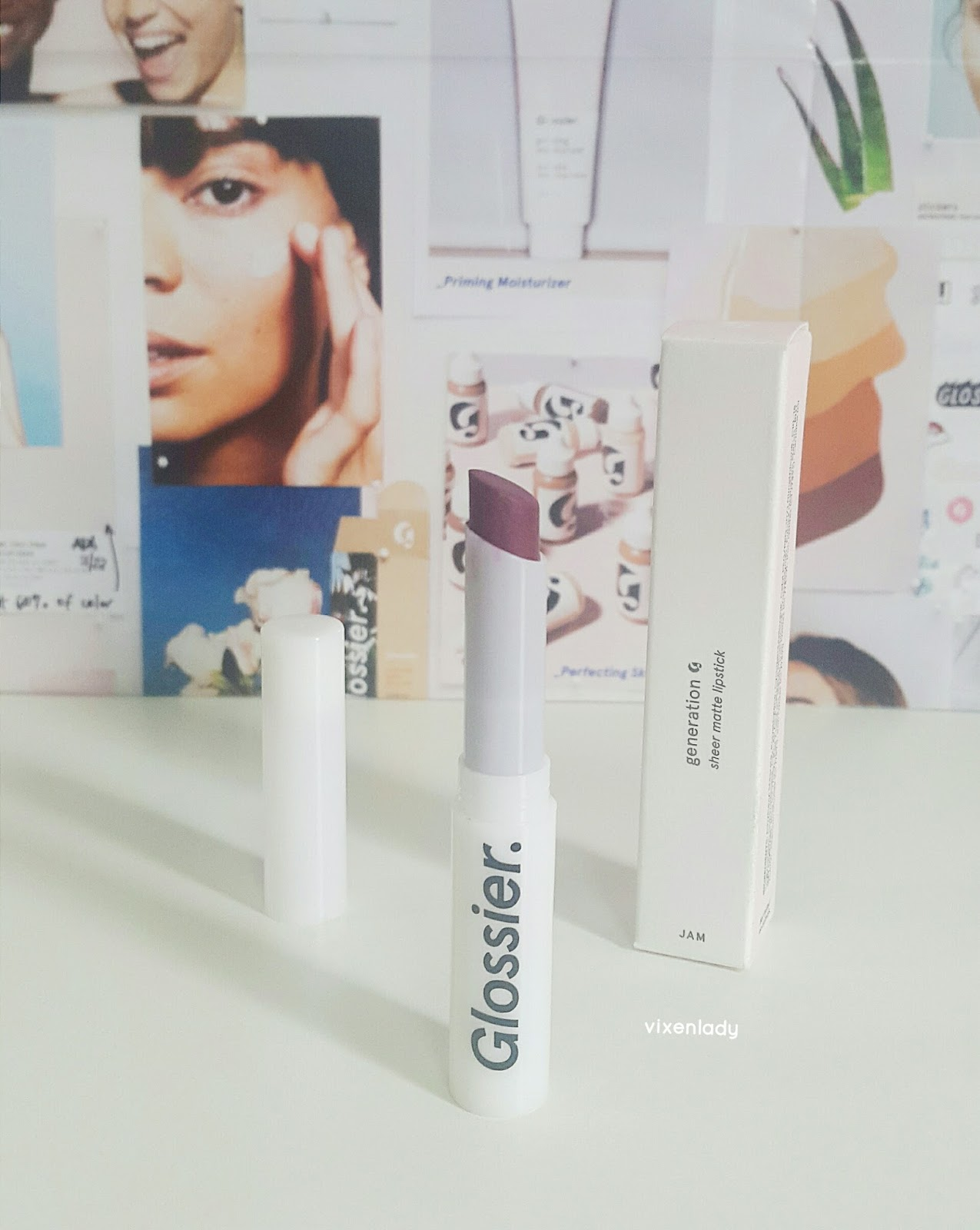Glossier Generation G Lipstick in Jam