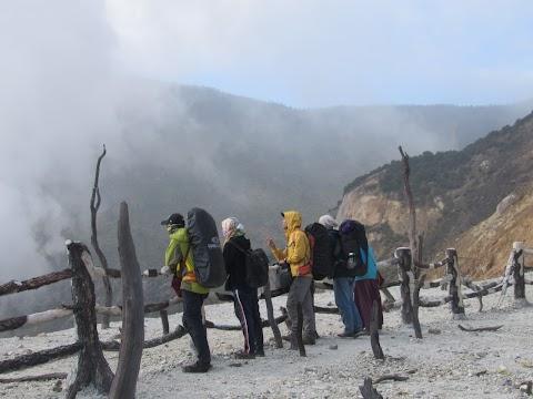 Pendakian Gunung Papandayan - 2665 mdpl