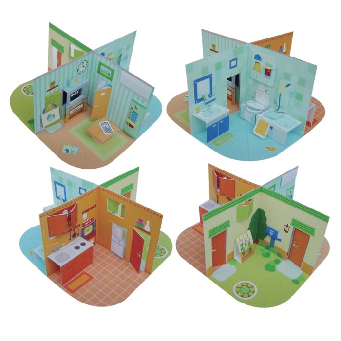 hedgehog pop up paper craft printable pop up papercraft dollhouse 6705