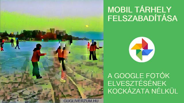 Google fotók és videók biztonsági mentése