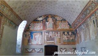 capela sao silvestre guia brasileira - Afrescos Medievais da Capela de São Silvestre