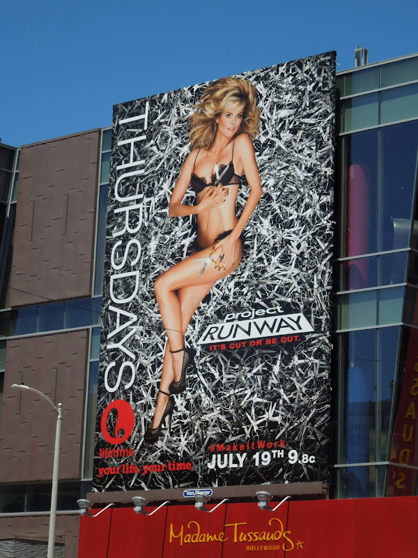 Heidi Klum Project Runway season 10 billboard