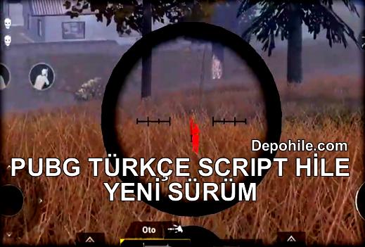 PUBG Mobile 10.5 Telefon Script Hile Wallhack TÜRKÇE +Host