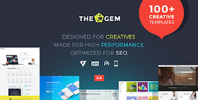 Thegem - Wordpress Template