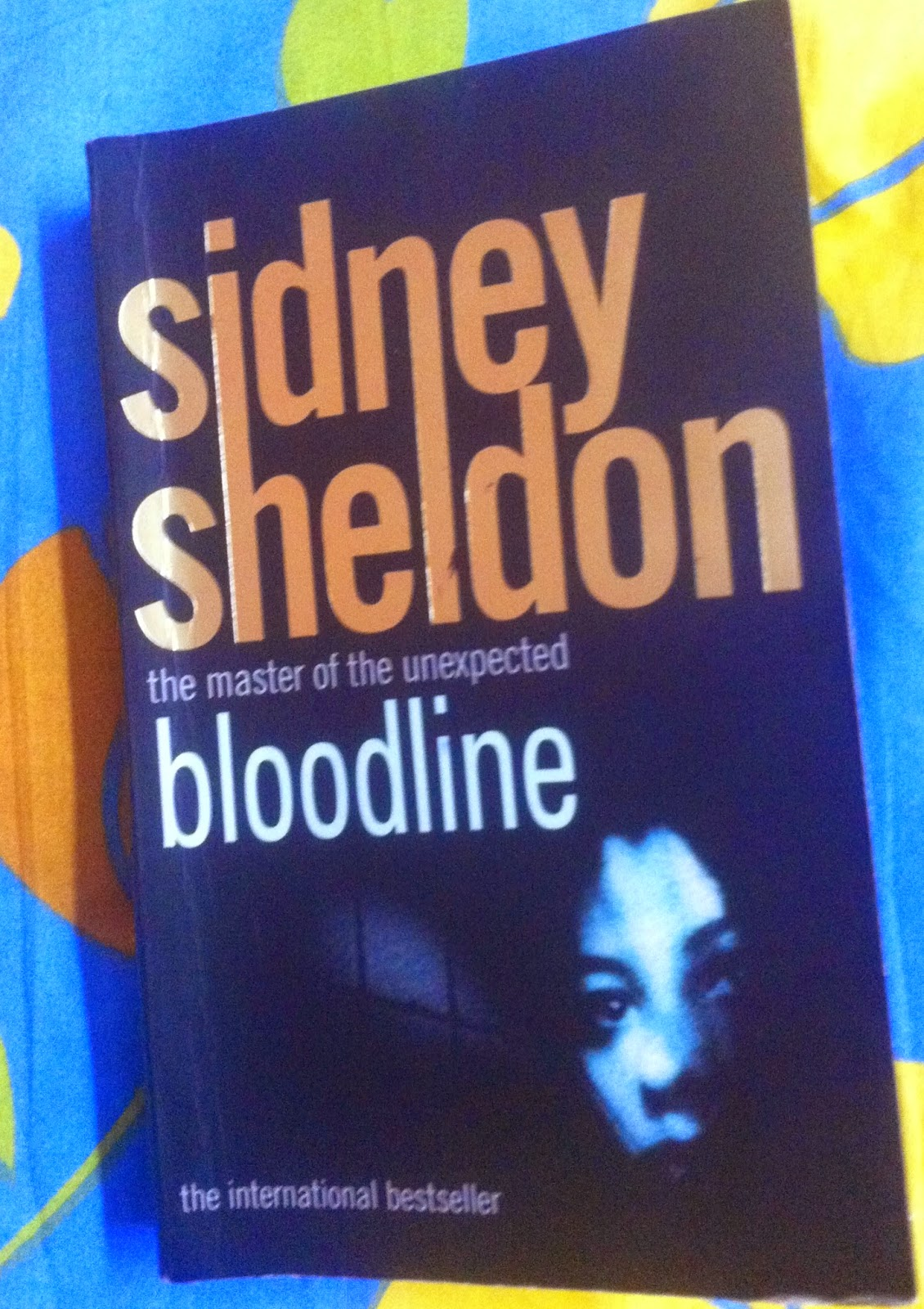 bloodline by sidney sheldon book review