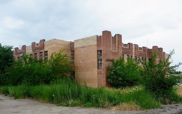 Константиновка. Заброшенный недострой