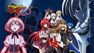 High School DxD Season 2 [BD] • Subtitle Indonesia + OVA