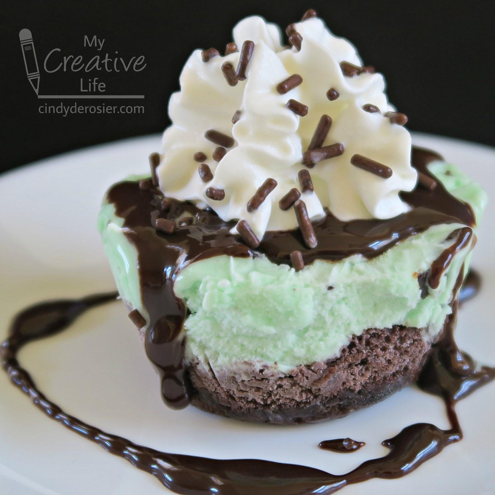 Cindy Derosier My Creative Life Individual Ice Cream Cakes