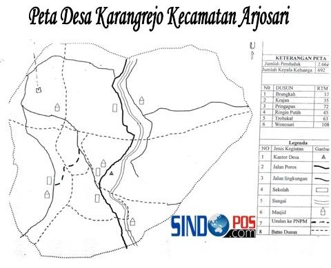 Profil Desa & Kelurahan, Desa Karangrejo Kecamatan Arjosari Kabupaten Pacitan