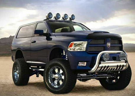 2016 Dodge Ramcharger Concept