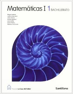 Libro Matemáticas I 1º Bachillerato Santillana Proyecto La Casa del Saber